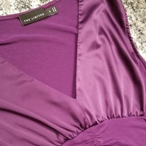 The Limited Purple Tank, Size Small